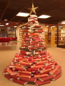 Book tree red