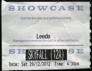 Skyfall ticket