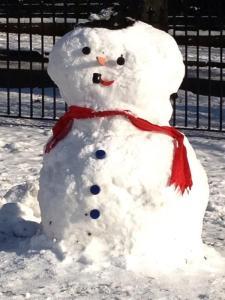 Nottingham snowman