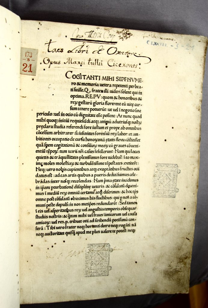 15C incunable