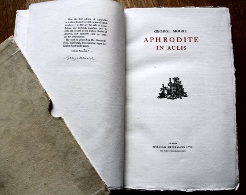 Aphrodite in Aulis, signed first edition