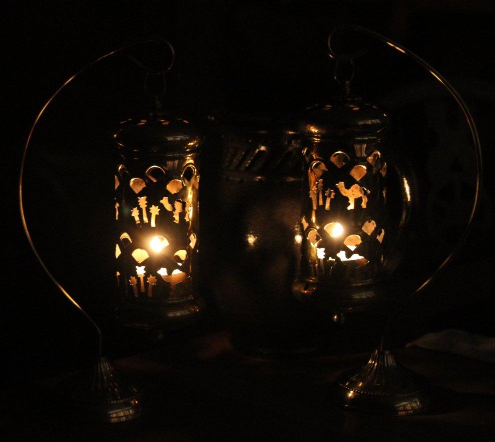Arabian lamps