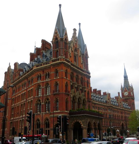The former Midland Grand Hotel, St Pancras