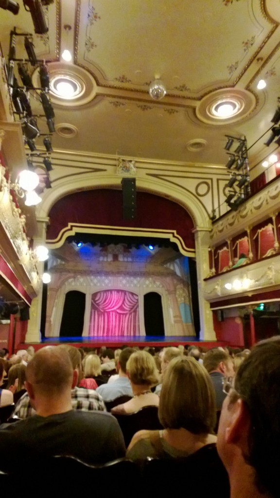 The intimate surroundings of Leeds City Varieties