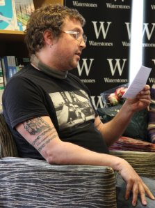Matthew Pritchard reading from 'Scarecrow'