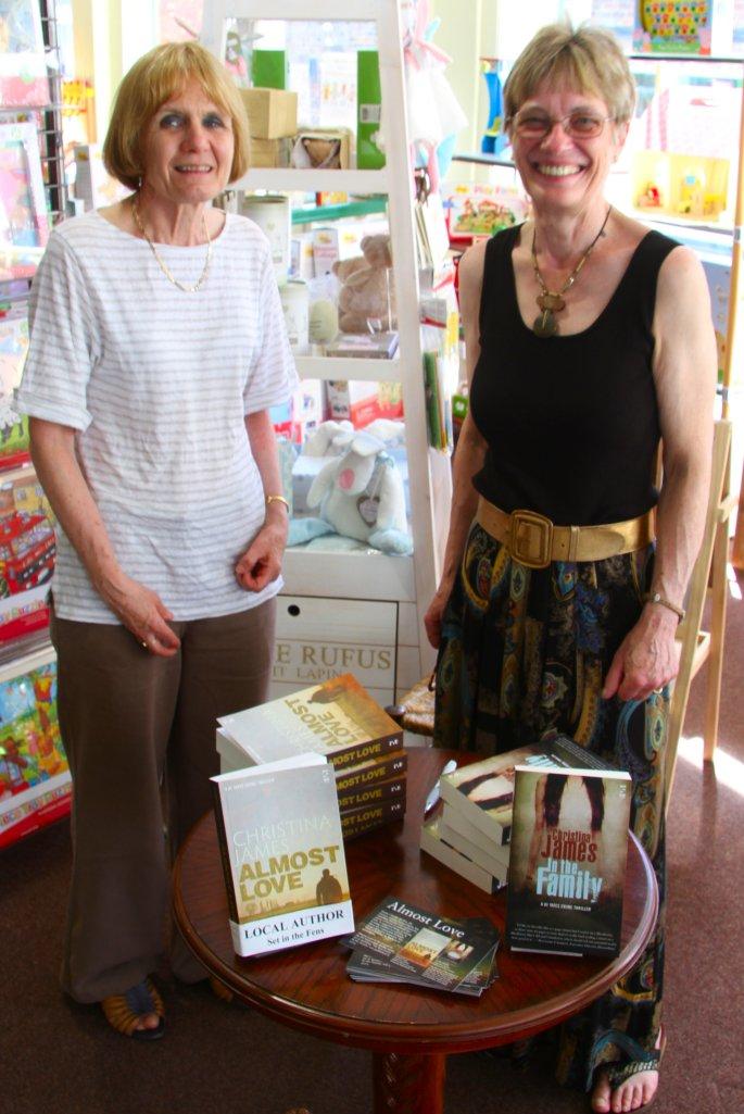 Bookmark's creative owner, Christine Hanson