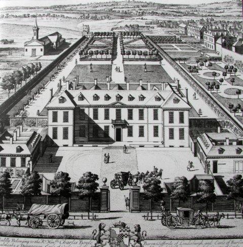 Burlington House c. 1700