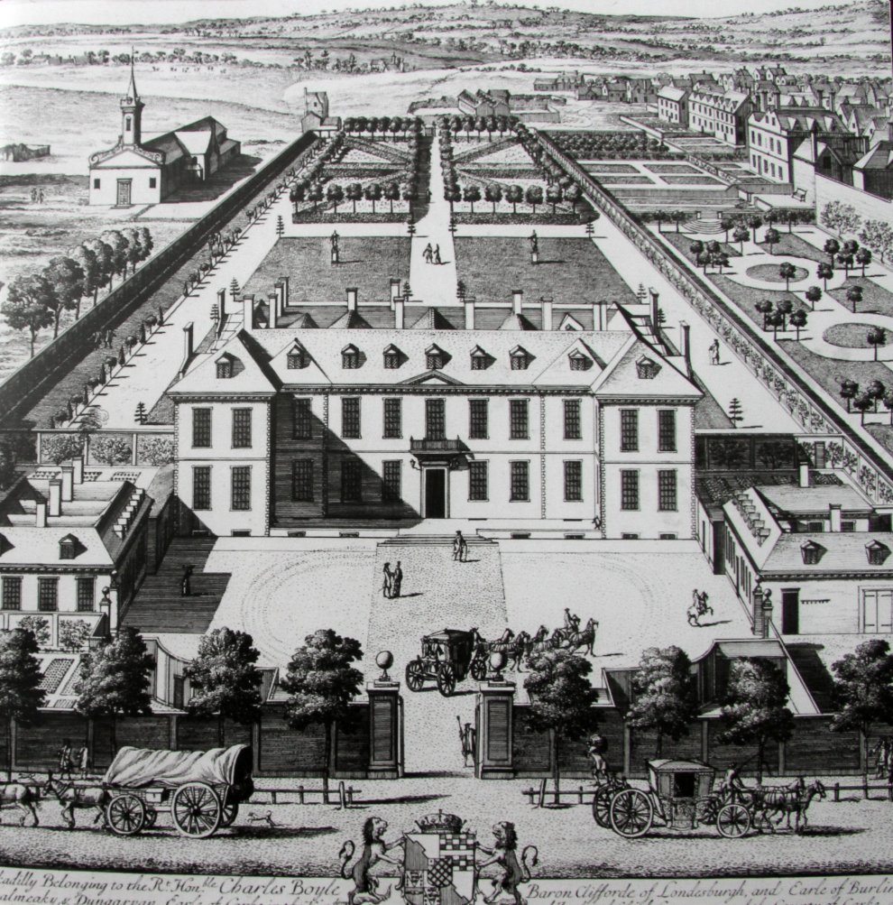 Burlington House c. 1700