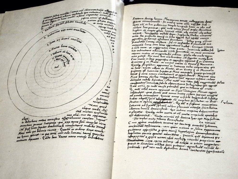 Copernicus' original autographed manuscript of 'De revolutionibus'