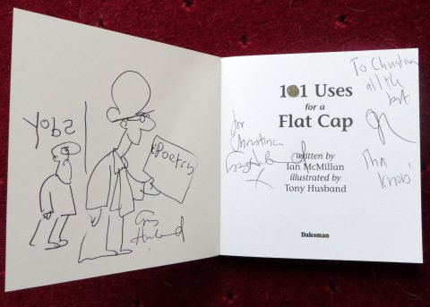 A precious signed first edition!  Love you, Tony and Ian!  :)