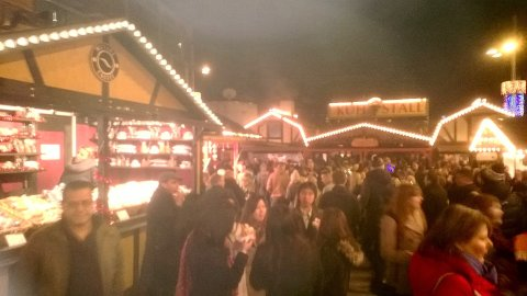 A smoke-scented, misty and magical Leeds Christkindlmarkt