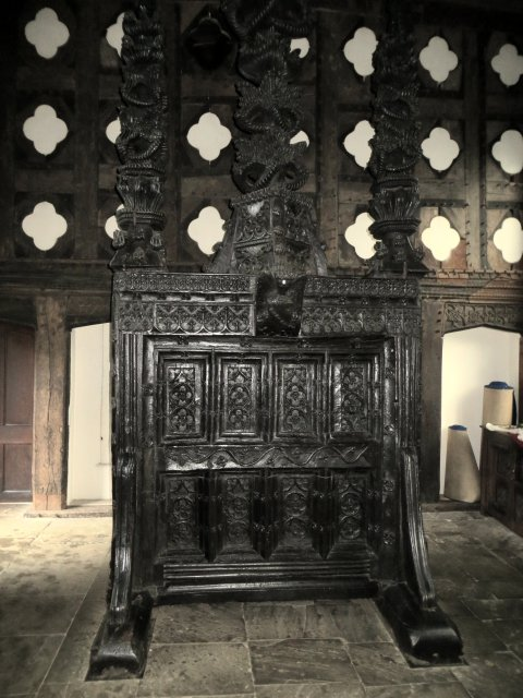 Rufford Old Hall - Great Hall screen