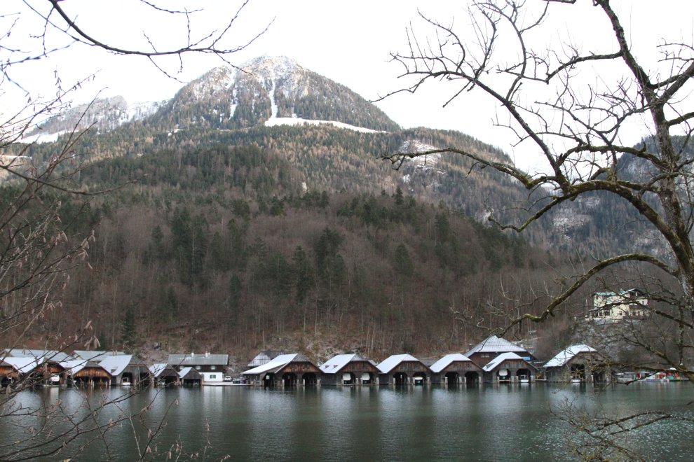 Boathouses at Königssee