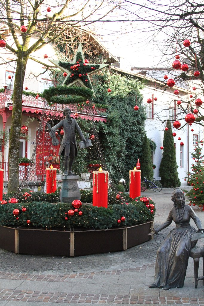 Chocolatiers' Mozart Christmas grotto, Bad Reichenhall