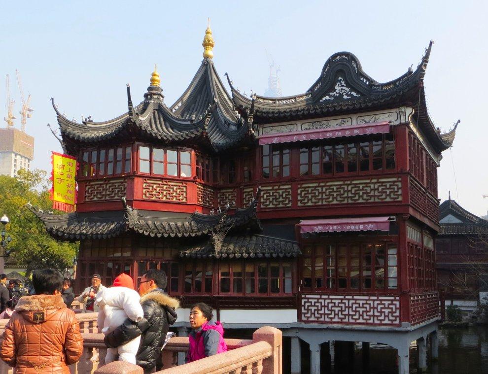 Huxinting Tea House, Yu Garden