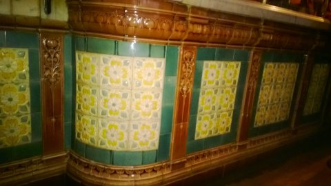 Whitelocks bar tiles
