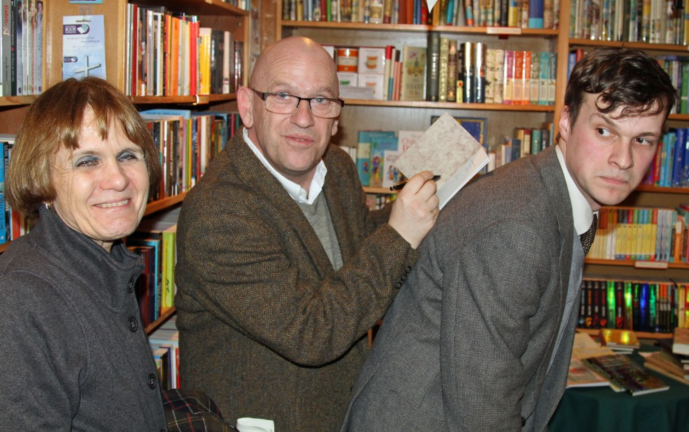 How to get a book signed by poets