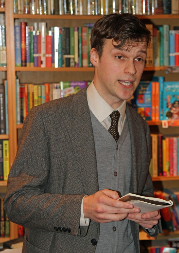 Matthew at Rickaro Books