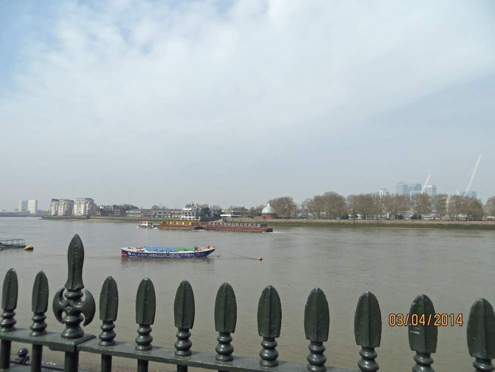 The Thames at Greenwich