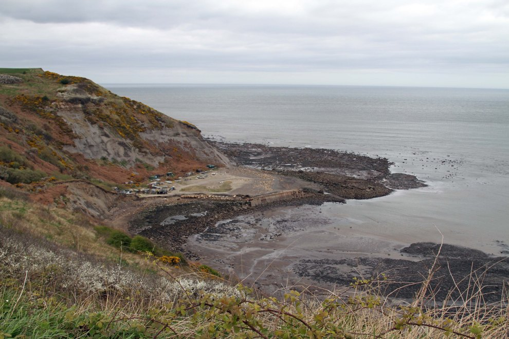 The 'harbour' at Port Mulgrave, North Yorkshire