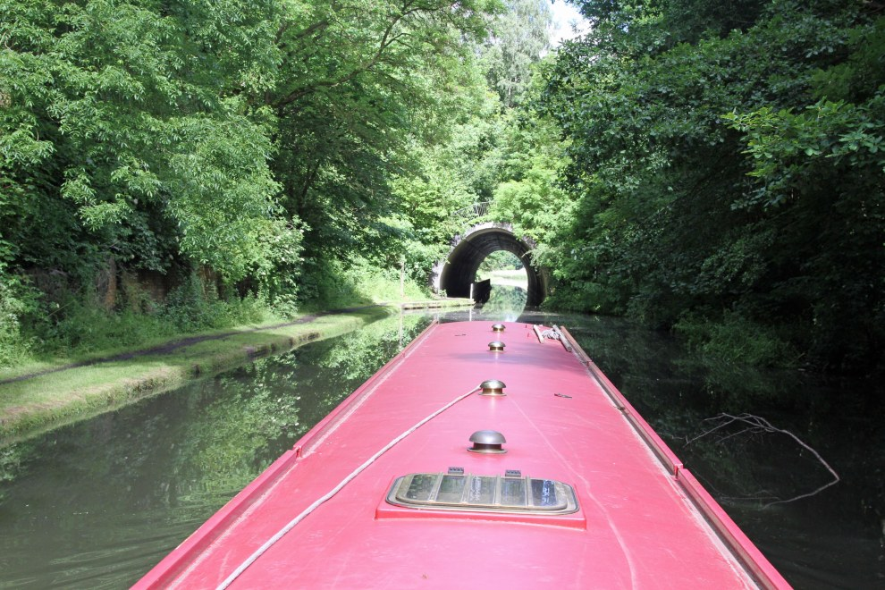 Summit tunnel, Smethwick, Birmingham Canal Navigations
