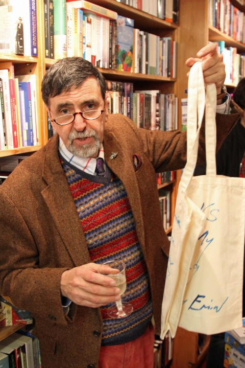Richard of Rickaro Books presents the Tracey Emin-endorsed Books Are My Bag bag