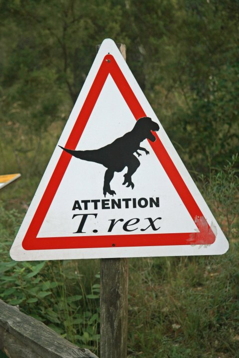 Road signs warn of just about anything