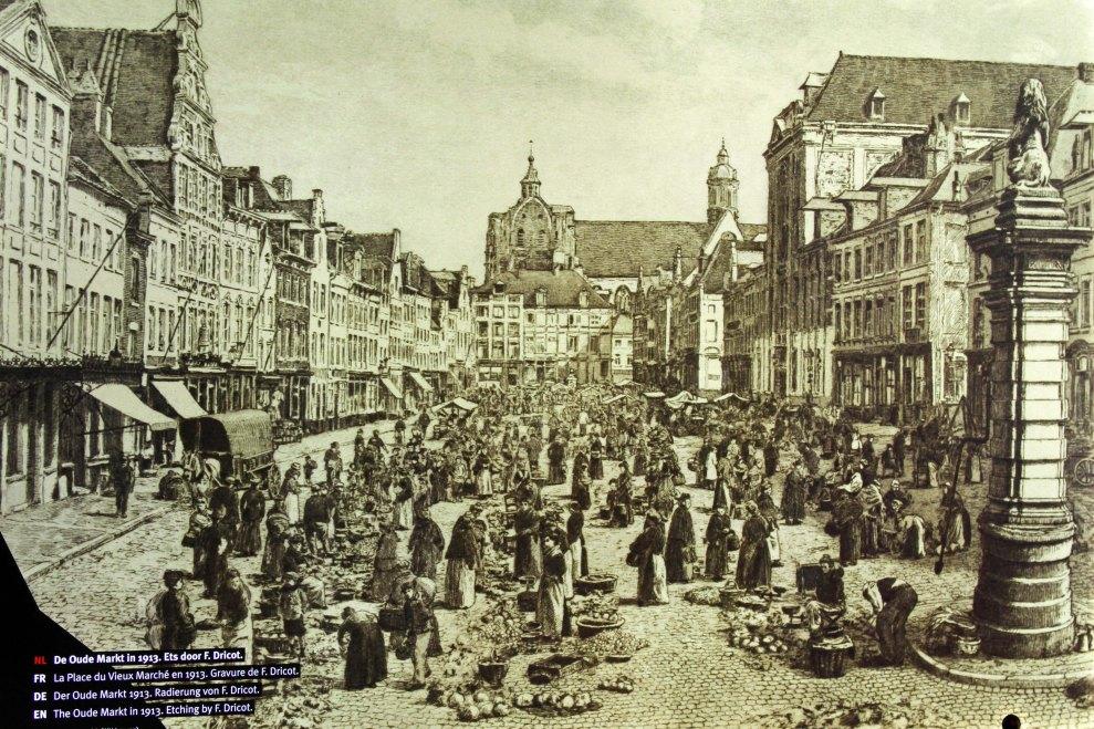 Oude Markt, in 1913