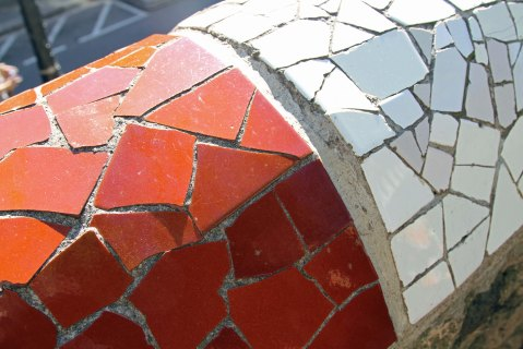 Park Güell: Some of Gaudí's least-photographed tiles