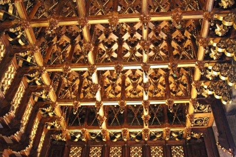 Palau Güell: ceiling detail