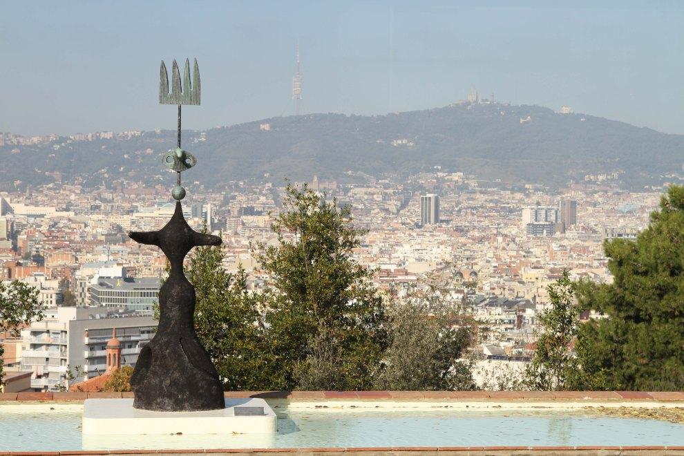 Barcelona from the Fundació Joan Miró